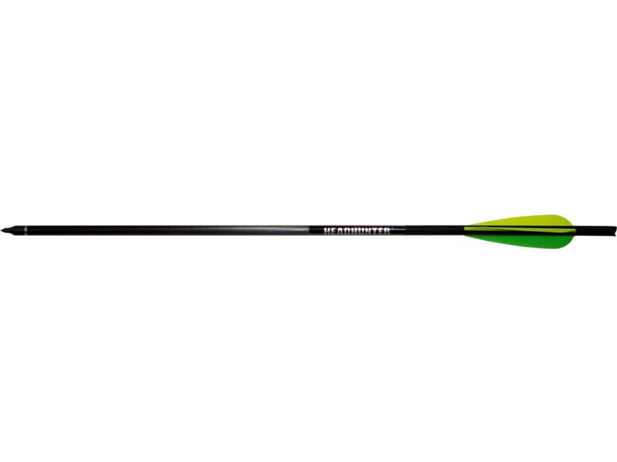 "Barnett Headhunter Carbon Crossbow Bolt 3"" Vanes Black Pack of 5"