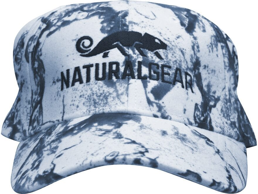 Natural Gear 6 Panel Logo Cap Polyester