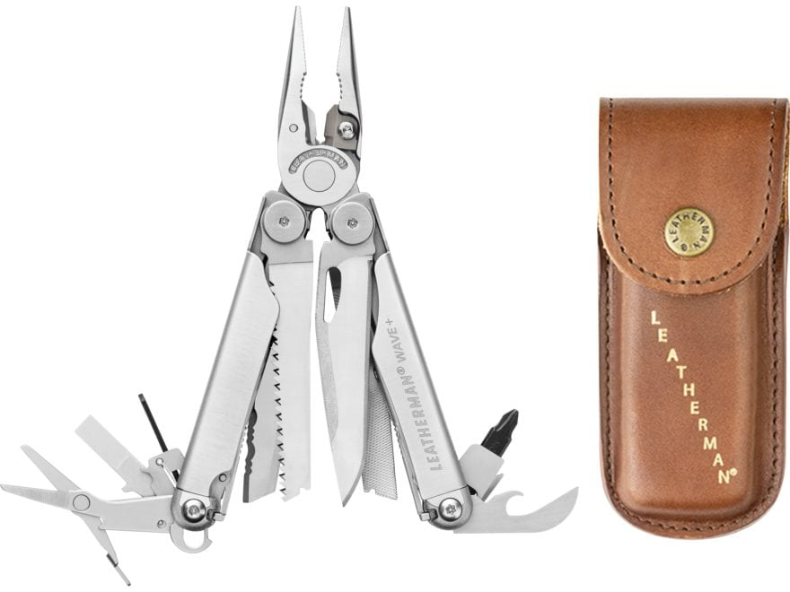 Leatherman Wave Plus Heritage Edition Multi-Tool Stainless Steel