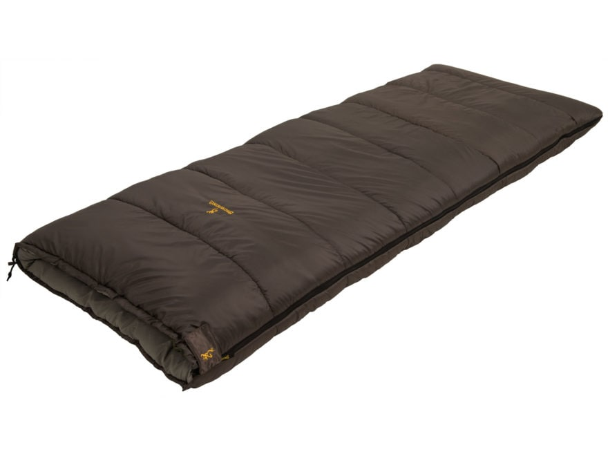 Browning Sawtooth 0 Degree Sleeping Bag Polyester Clay