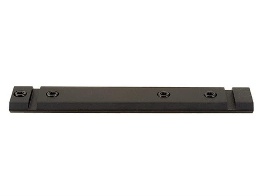 Warne Maxima 1-Piece Aluminum Weaver-Style Scope Base Remington 4, 6, 750, 7400, 7600 M...