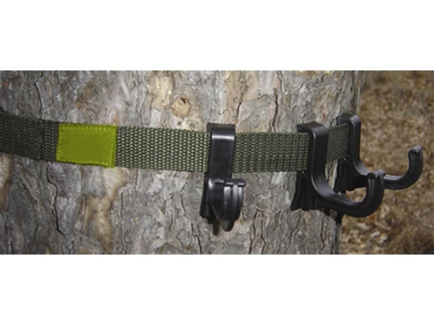 HME Hook Belt Accessory Hanger Strap Nylon Green