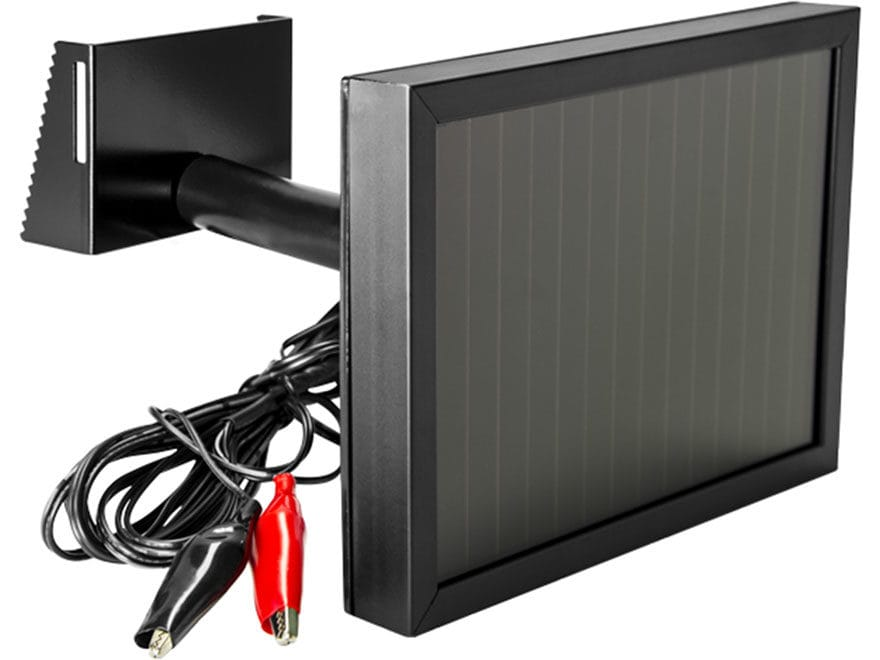 Spypoint 12 Volt Solar Panel Battery Charger Black Mpn