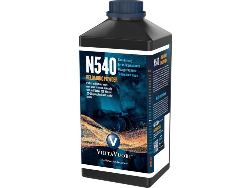 Vihtavuori N540 Smokeless Gun Powder 1 lb
