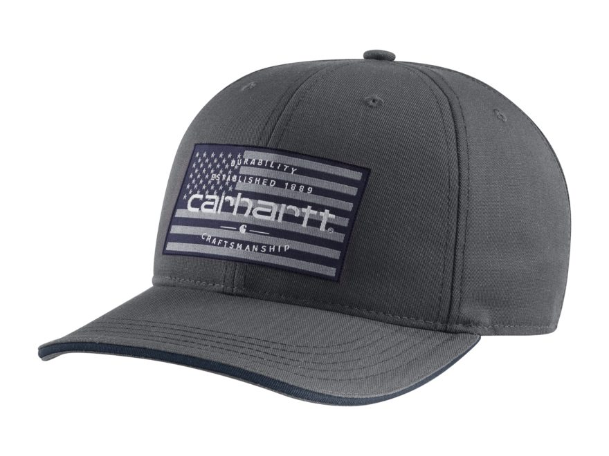 Carhartt American Flag Cap Shadow One Size Fits All