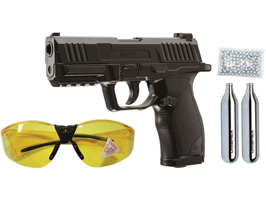 Umarex MCP Air Pistol 177 Caliber BB Black with Kit