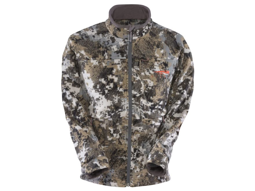Sitka Gear Youth Stratus Windproof Jacket Microfleece Gore Optifade Elevated II Camo