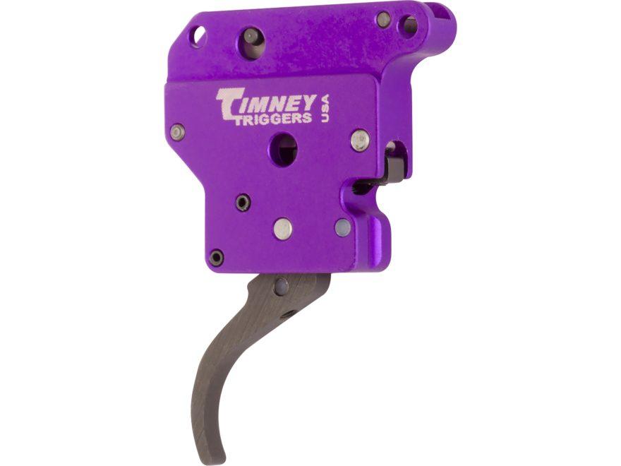 Timney Benchrest Rifle Trigger Remington 700 2 oz Black