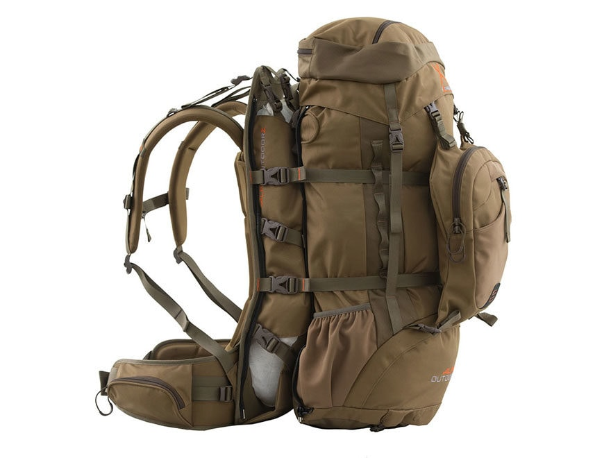 ALPS Outdoorz Commander X+ Frame Backpack Coyote