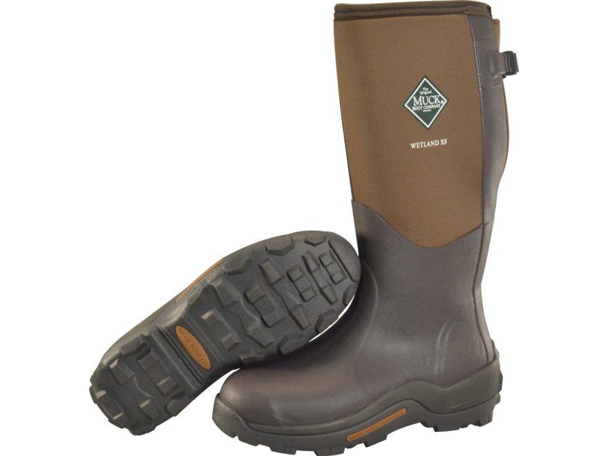 "Muck Wetland XF 16.5"" Waterproof 5mm Insulated Hunting Boots Neoprene/Rubber Men's"