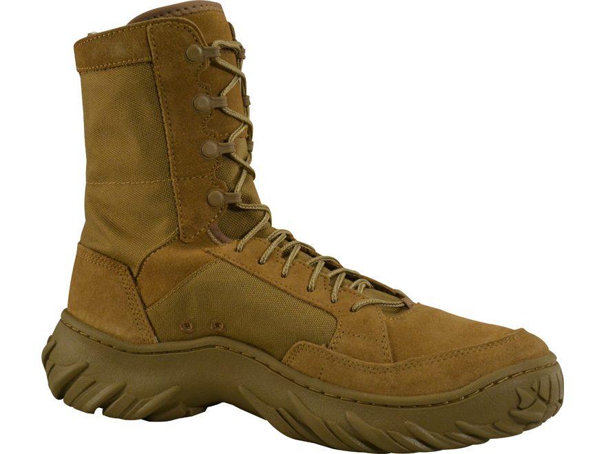 "Oakley Field Assault AR 670-1 Compliant 8"" Tactical Boots Cordura/Suede"
