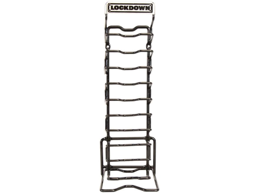 Lockdown AR-15 Magazine Rack Organizer Vinyl Coated Steel
