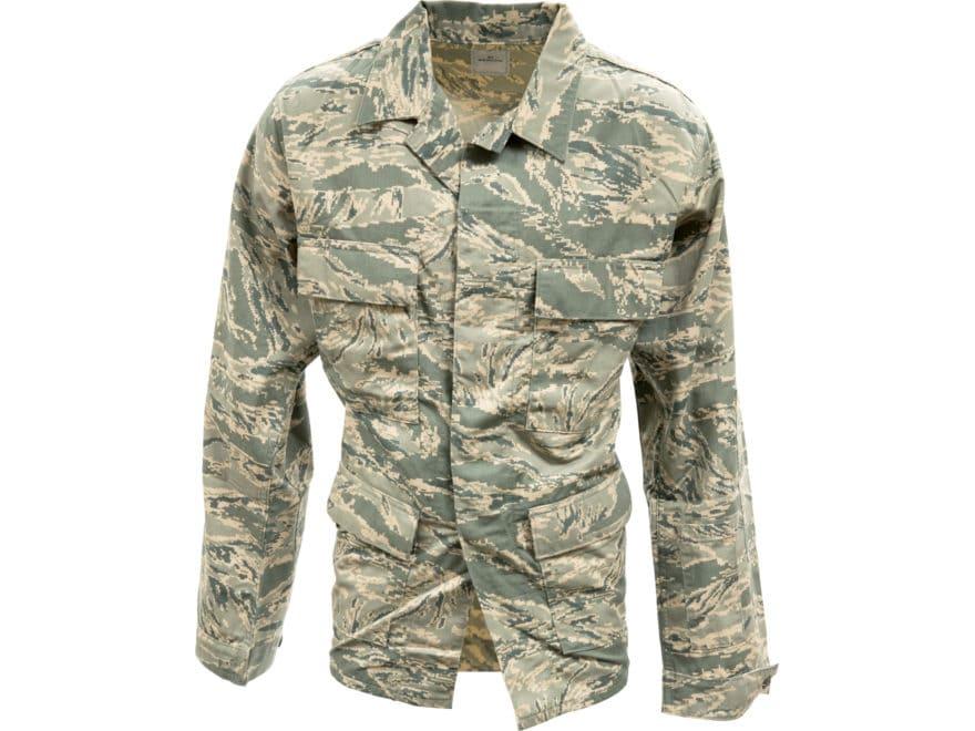 2da47a22064 Military Surplus Airman Battle Uniform Coat ABU Camo. Alternate Image   Alternate Image ...