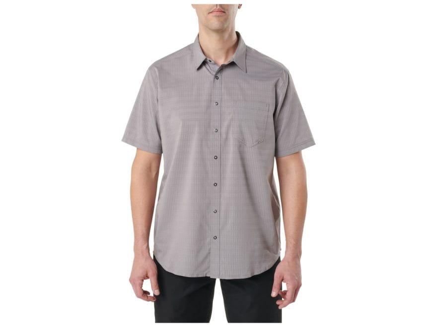 5.11 Men's Aerial Button-Up Shirt Short Sleeve Polyester