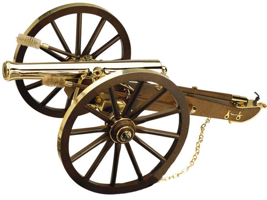 "Traditions Napoleon III Black Powder Cannon 69 Caliber 14.5"" Gold Barrel Hardwoods Carr..."