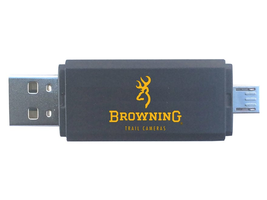 Browning Game Camera SD Card Reader for Android Devices
