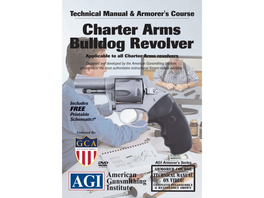 """American Gunsmithing Institute (AGI) Technical Manual & Armorer's Course Video """"Charter..."""