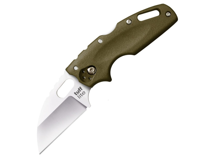 "Cold Steel Tuff Lite Folding Pocket Knife 2.5"" Wharncliffe AUS 8A Stainless Steel Blade..."