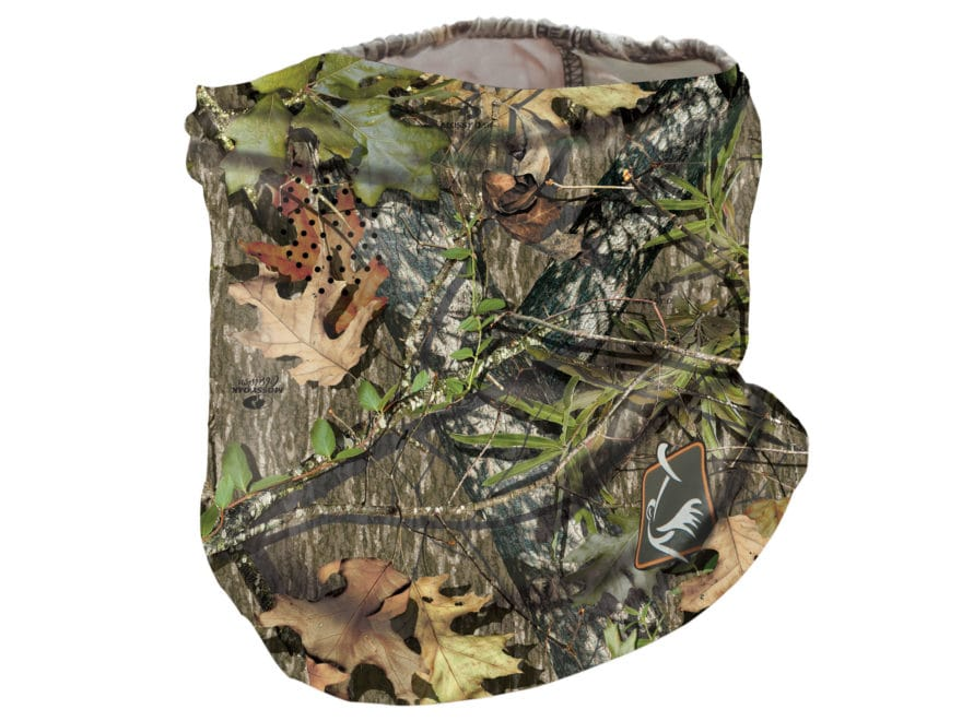 Ol' Tom Performance Half Face Mask Polyester Mossy Oak Obsession Camo