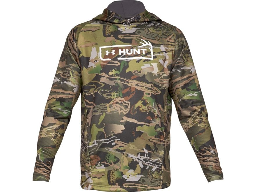 Under Armour Men's UA Camo Tech Terry Hoodie Polyester