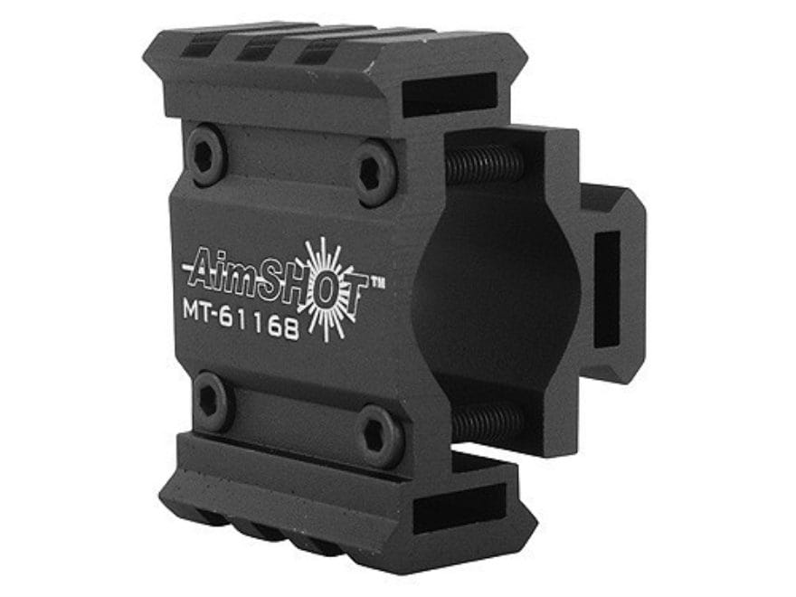 AimShot Laser Sight and Flashlight Tri-Rail Barrel Mount Matte