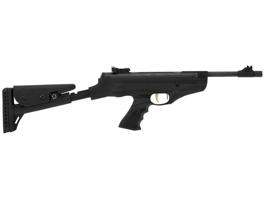 Hatsan Model 25 SuperTact Vortex Air Pistol 177 Caliber Pellet Synthetic Grip Black