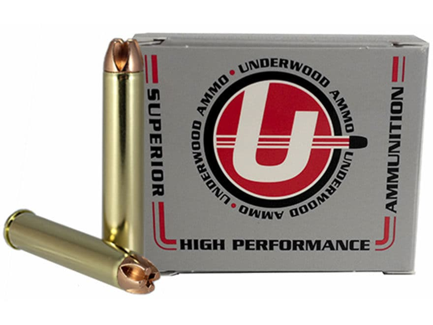 Underwood Ammunition 444 Marlin 220 Grain Lehigh Xtreme Penetrator Lead-Free Box of 20