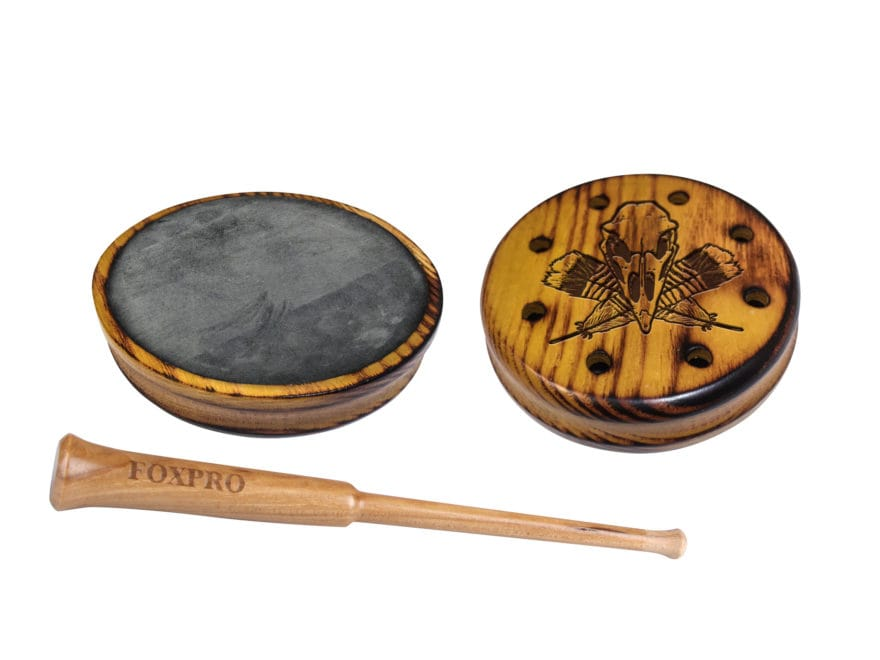 FoxPro Osage Slate Pot Turkey Call with Hickory Striker