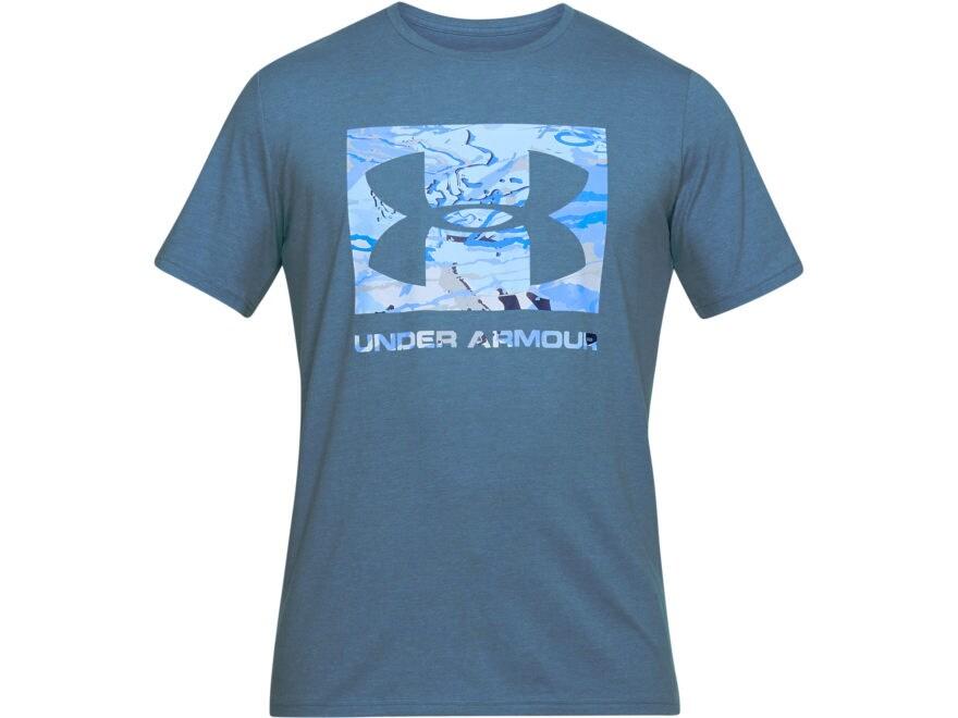 Under Armour Men's UA Camo Knockout Logo T-Shirt Short Sleeve Tri-Blend