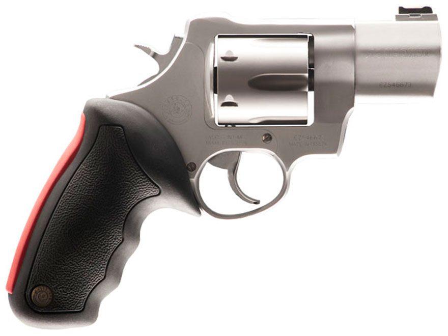 taurus 444 ultralite revolver 44 remington magnum 6-round stainless and  black rubber