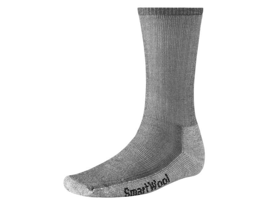 Smartwool Men's Hike Medium Crew Socks Wool Blend Gray Large (9-11-1/2) 1 Pair
