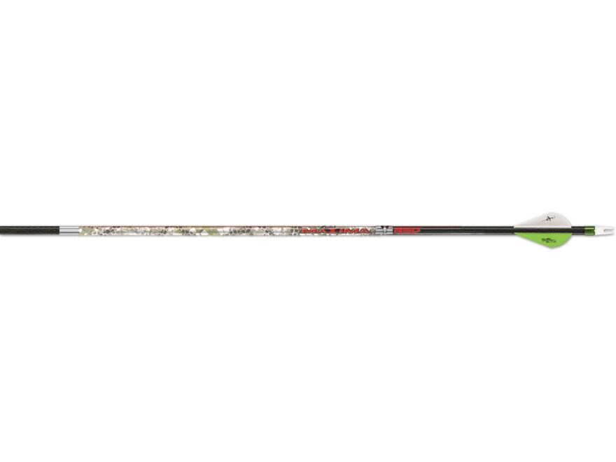 "Carbon Express Maxima Red Badlands Carbon Arrow 2"" Blazer Vanes Pack of 6"