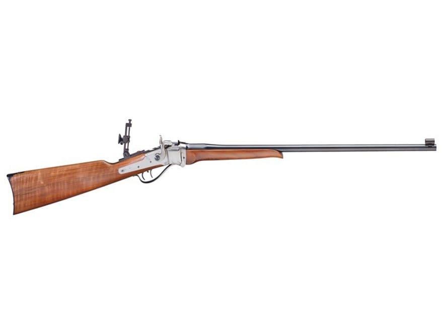 "Pedersoli Sharps Small Betsy Rifle 357 Magnum 24"" Barrel Silver, Blue and Walnut"