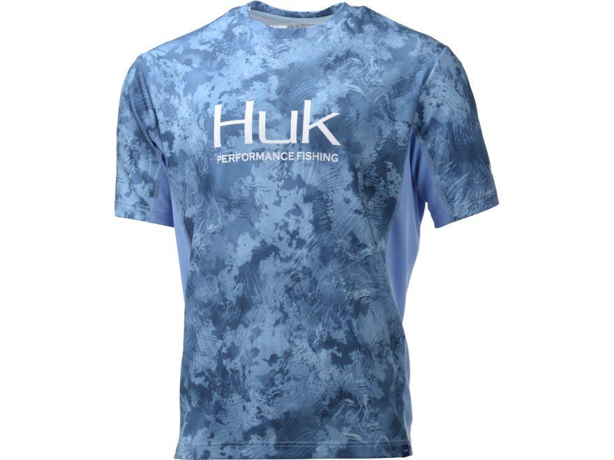 Huk Men's Icon X Camo Performance Short Sleeve Shirt Polyester/Spandex