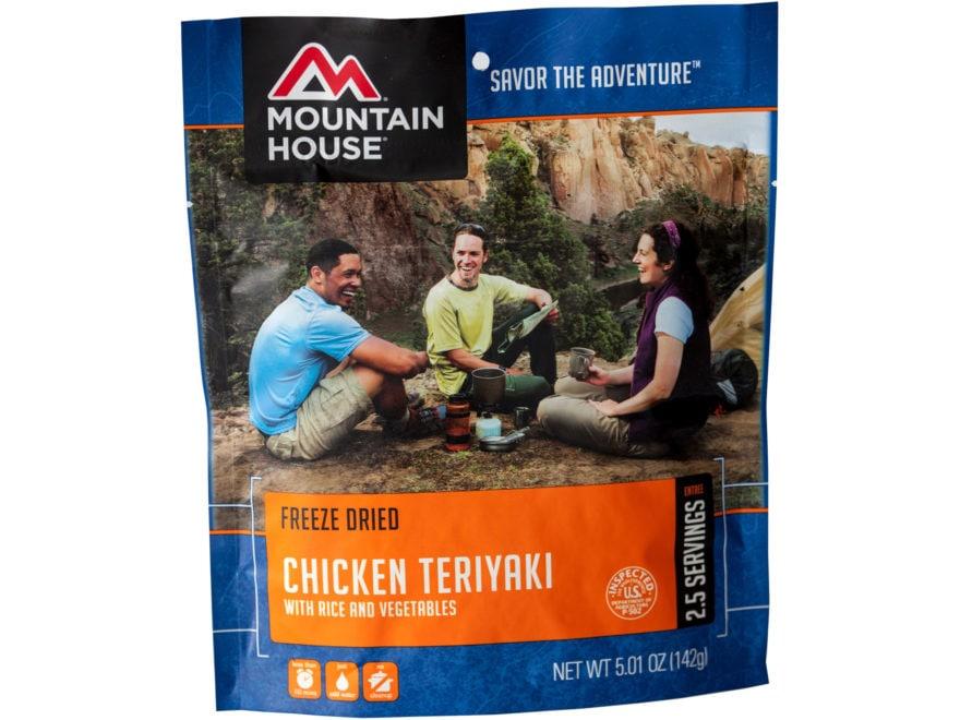 Mountain House Chicken Teriyaki with Rice Freeze Dried Food 5 oz