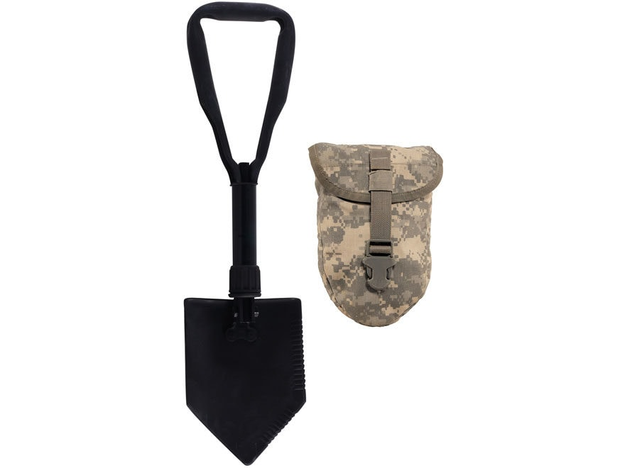 Military Surplus Entrenching Tool with ACU Carrier