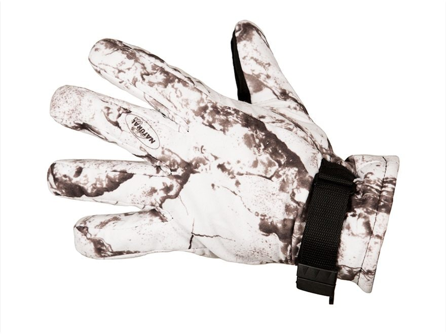 Natural Gear Snow Gloves Insulated Waterproof Polyester Natural Gear Snow Camo