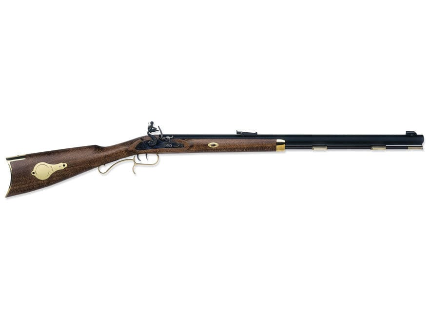 "Traditions Hawken Woodsman Muzzleloading Rifle 50 Caliber Flint 28"" Blued Barrel Select..."