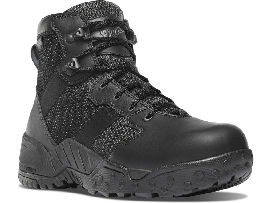 """Danner Scorch 6"""" Waterproof Side-Zip Tactical Boots Leather/Nylon Men's"""