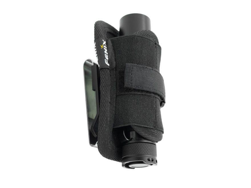 Fenix Belt Clip Rotating Flashlight Holster Nylon Black