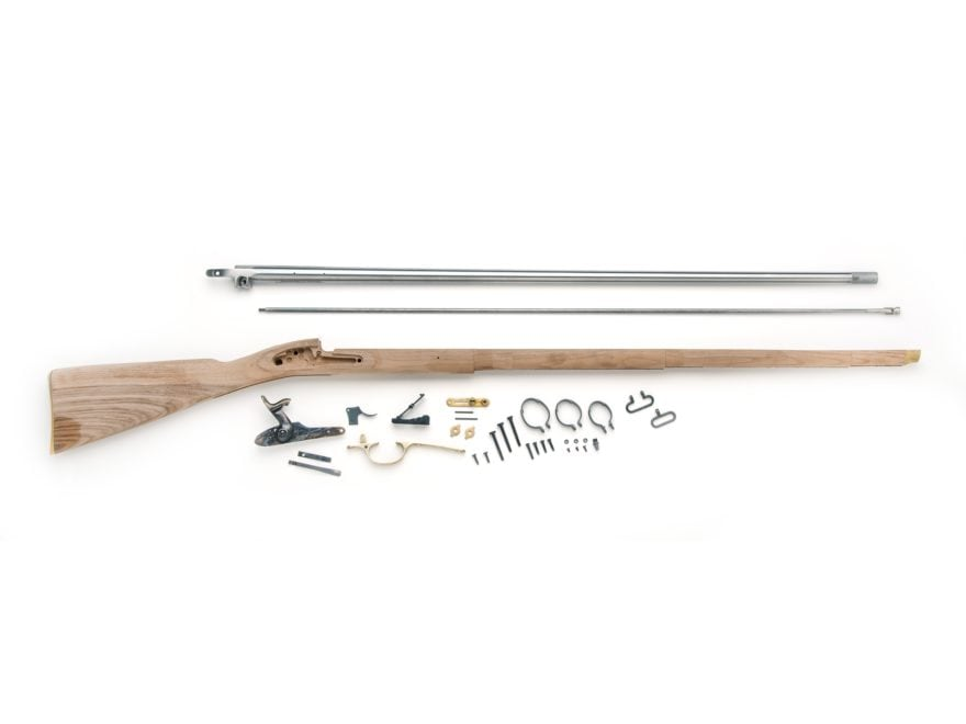 """Traditions 1853 Enfield Muzzleloading Rifle Kit 58 Caliber Percussion Smoothbore 39"""" Ba..."""