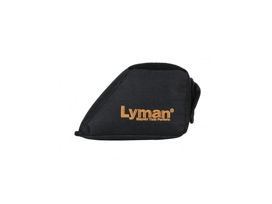 Lyman Wedge Shooting Rest Bag Nylon Black