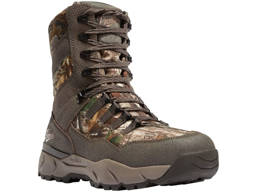 "Danner Vital 8"" Waterproof 800 Gram Insulated Hunting Boots Leather/Nylon Men's"