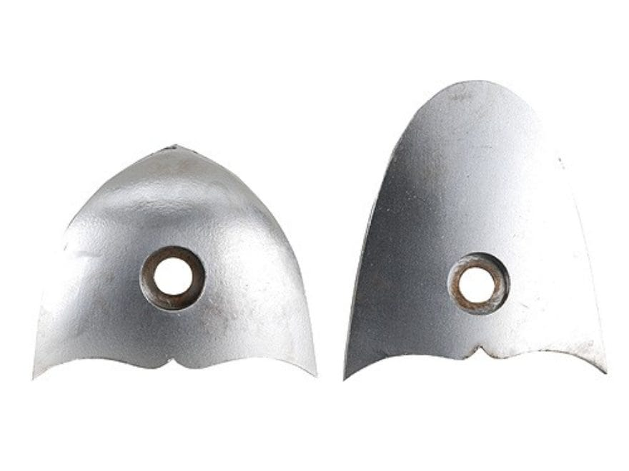 Galazan Heel and Toe Plate Set Polished Steel in the White