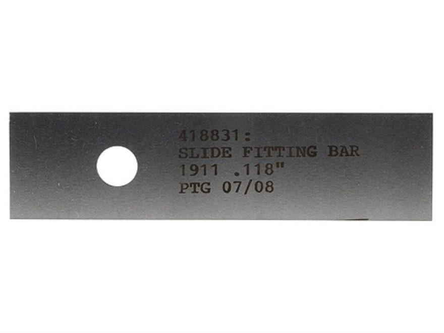 """PTG Slide Fitting Bar 1911 .118"""""""