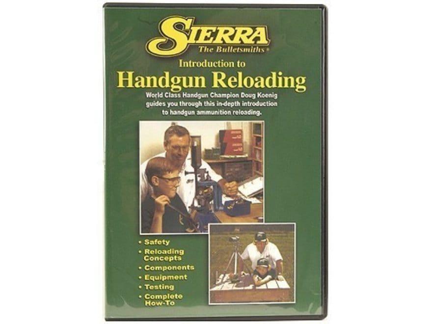 "Sierra Video ""Introduction to Handgun Reloading"" DVD"