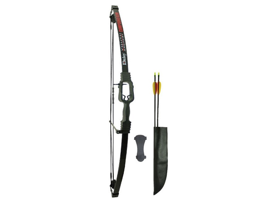 "Daisy Youth Compound Bow Package Ambidextrous 13-19 lb 16""-25"" Draw Length Black"