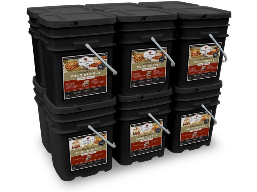 Wise Company 1440 Serving Vegetarian Entree and Breakfast Freeze Dried Food Kit