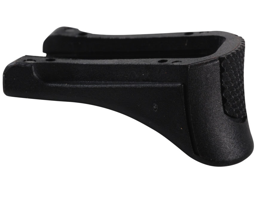 Ruger Magazine Floorplate with Finger Rest Extension Ruger LC9s, EC9s Polymer Black