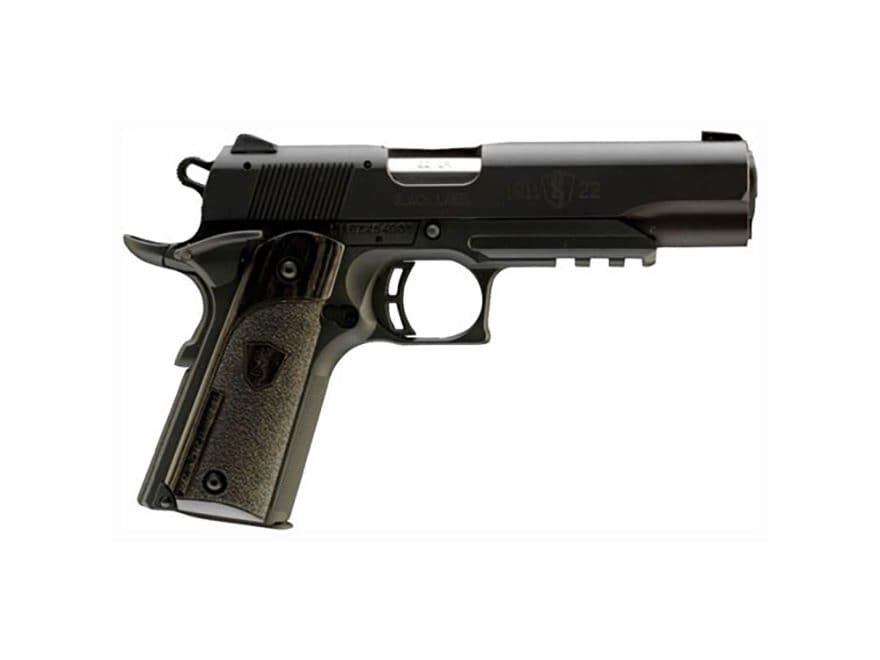 "Browning 1911-22 Black Label Pistol 22 Long Rifle 4.25"" Barrel with Rail 10-Round"